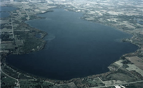 Lake Miltona Aerial View